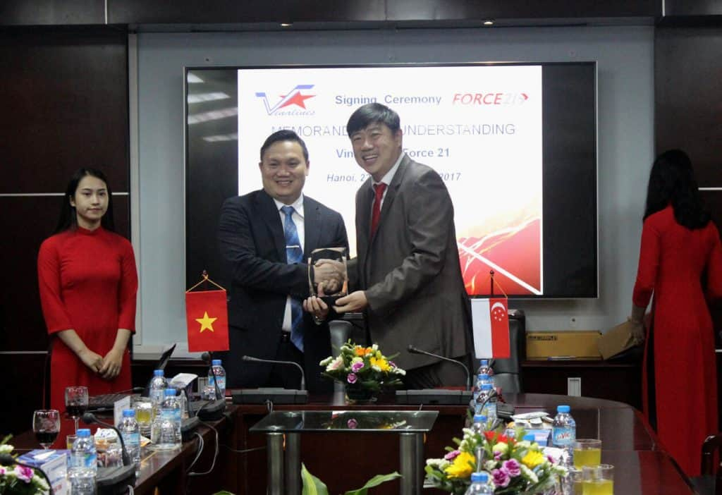 Force 21 signs MOU with Vinalines to develop IT Solutions and Automation for Port & Logistic Operations 1