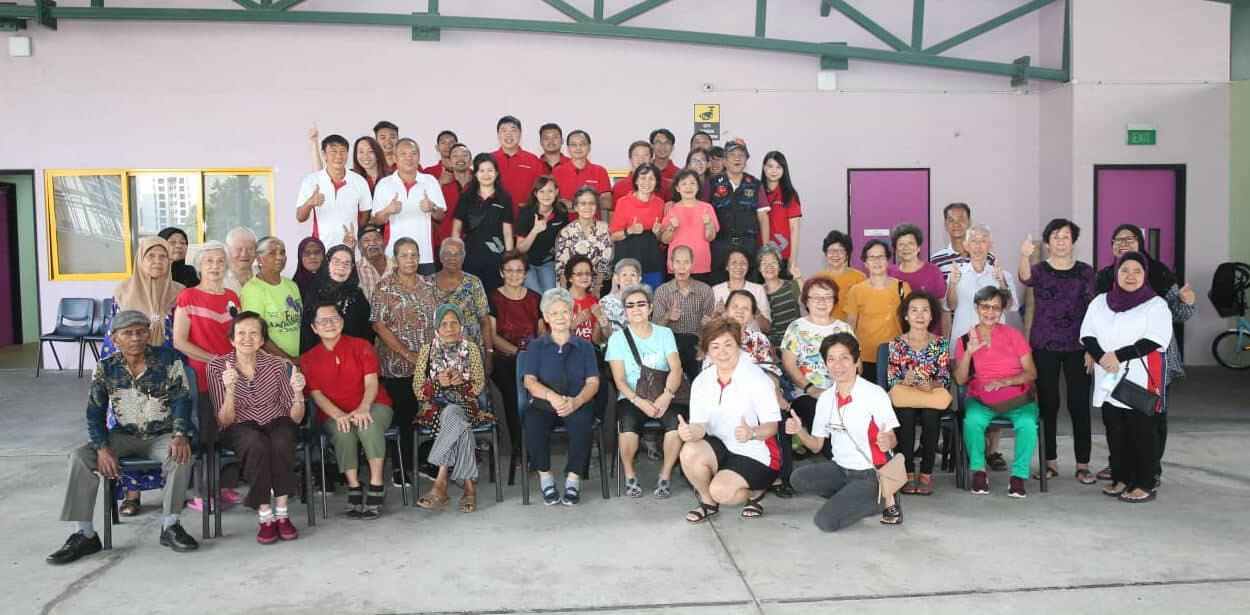 Fitness-themed CSR with the Seniors