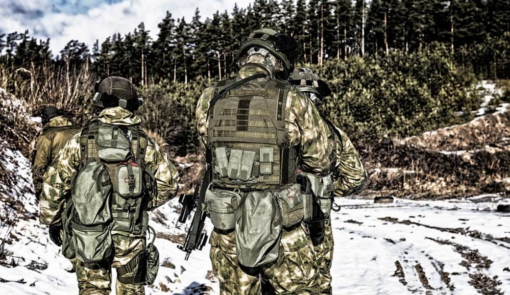 Force 21 military gear and tactical backpacks