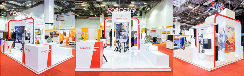 Force 21 Events designed our own Milipol Asia Pacific booth
